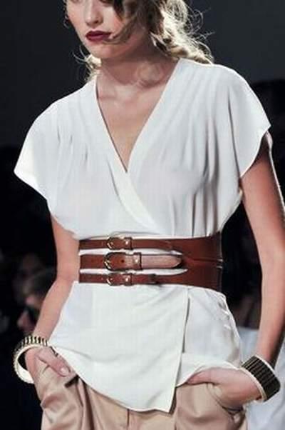 ceinture large grosse boucle,ceinture large rouge vernis,ceinture large  double tour femme 14a2a1f2c48