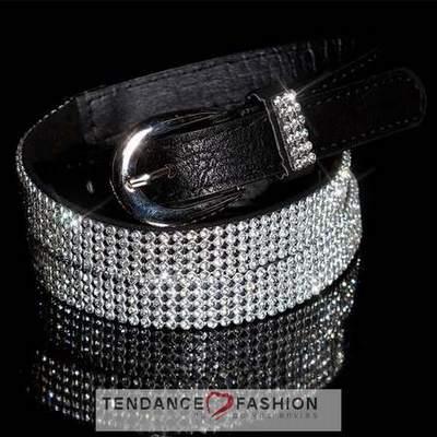 ceinture noir avec boucle strass,ceinture a strass,ceinture large en ... 17ff99f12ae