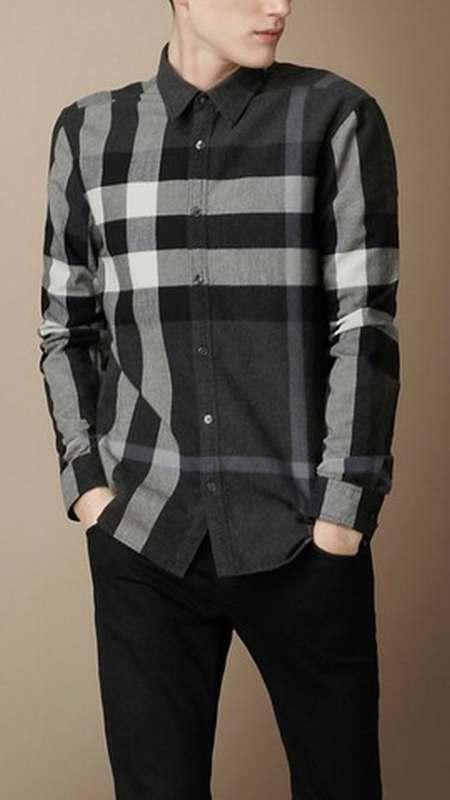 8c613e7da61114 Noire Bouton Pression Manches Longues chemise Chemise Homme ZqPHBwHf